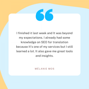 The SEO Translation Bible - Review 2